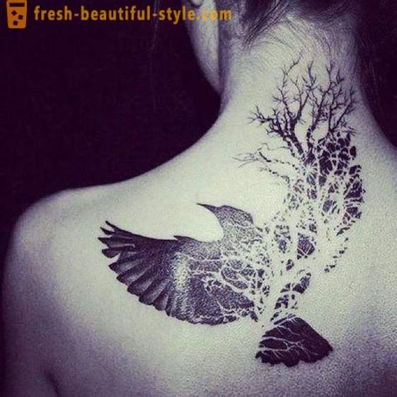 Dívky s velkými ptáky